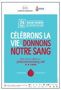 La Journée mondiale des donneurs de sang est célébrée le 14 juin 2016