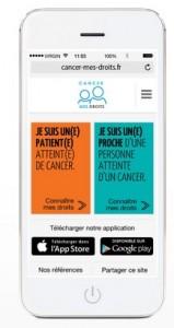 Cancer : une application mobile pour connaître vos droits