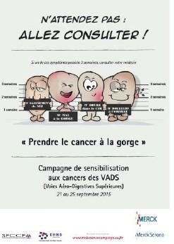Une semaine pour « Prendre le cancer à la gorge »