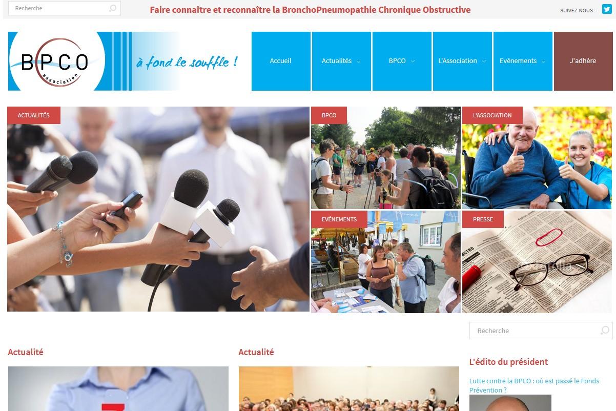 le site de l'Association BPCO