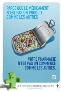 L'affiche de la campagne de l'Ordre des pharmaciens
