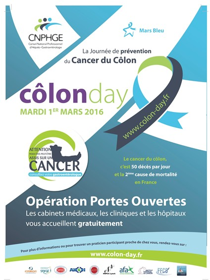 Colon Day : la Journée nationale de prévention du cancer du colon