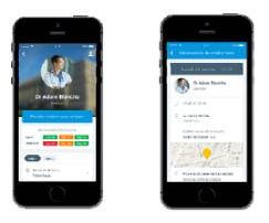 Doctolib lance son application mobile