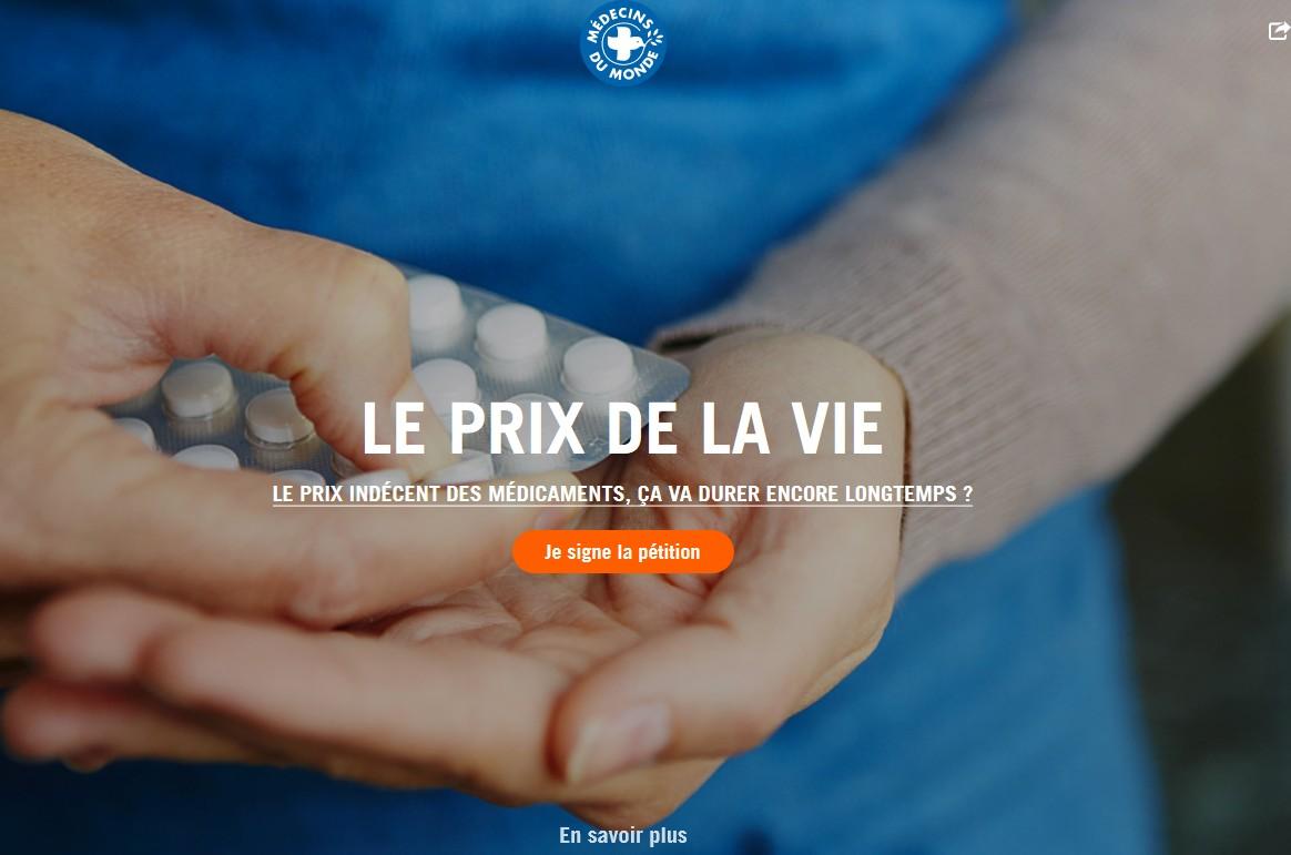 le site internet www.leprixdelavie.com