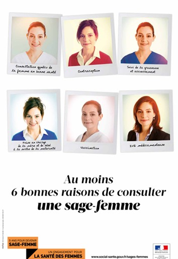 Une campagne d'information nationale sur le rôle et les missions des sages-femmes