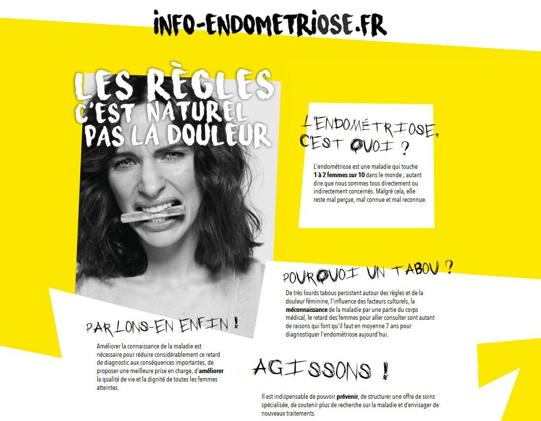 Endométriose : une campagne pour sensibiliser élèves et personnels