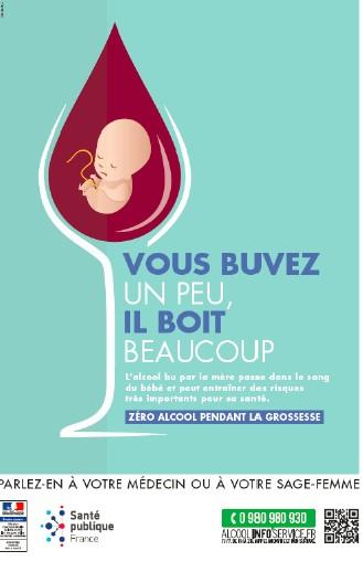 Adoptez le réflexe « Zéro alcool pendant la grossesse »