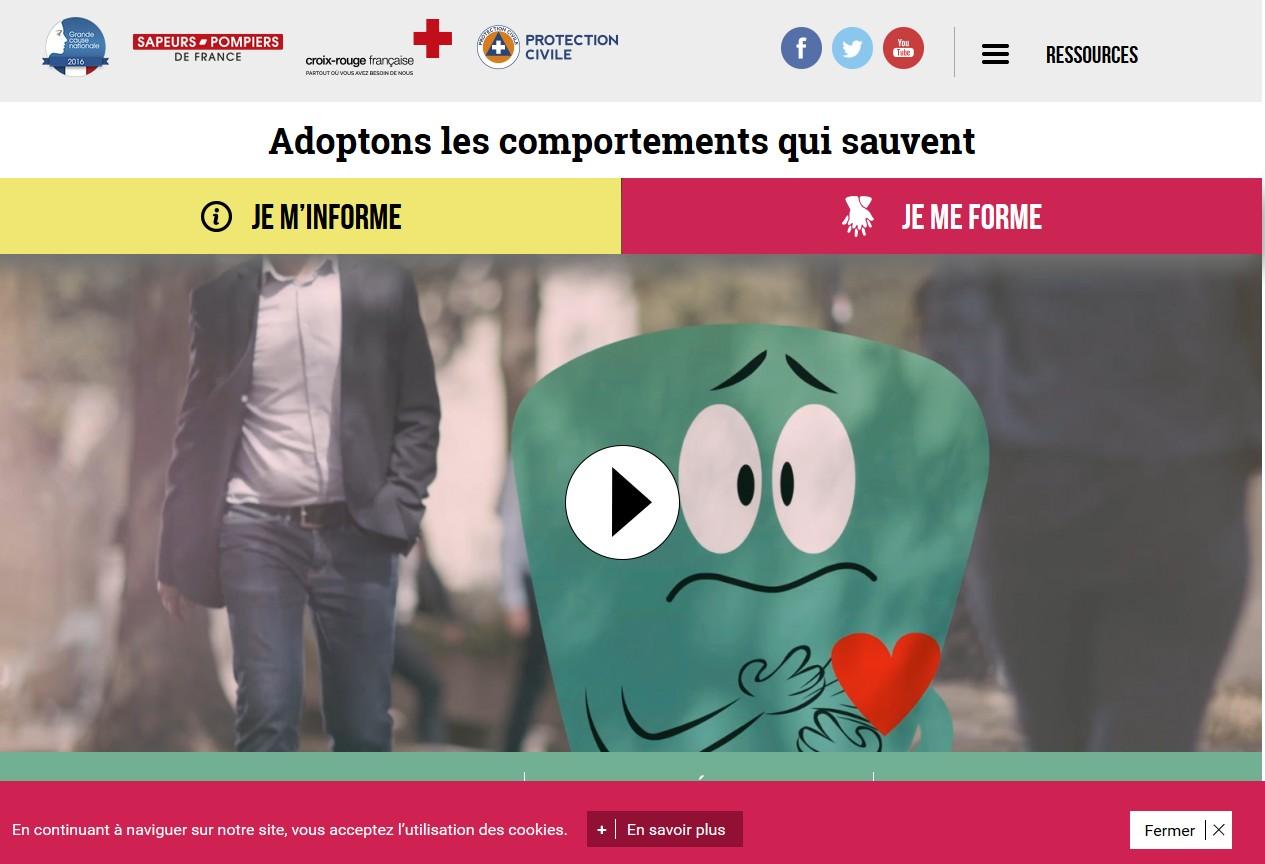 Le site www.comportementsquisauvent.fr