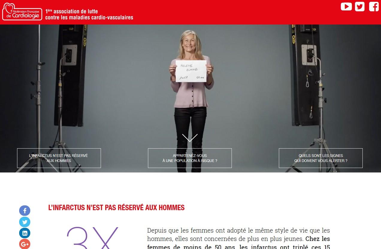 le site de la Fédération Française de Cardiologie.