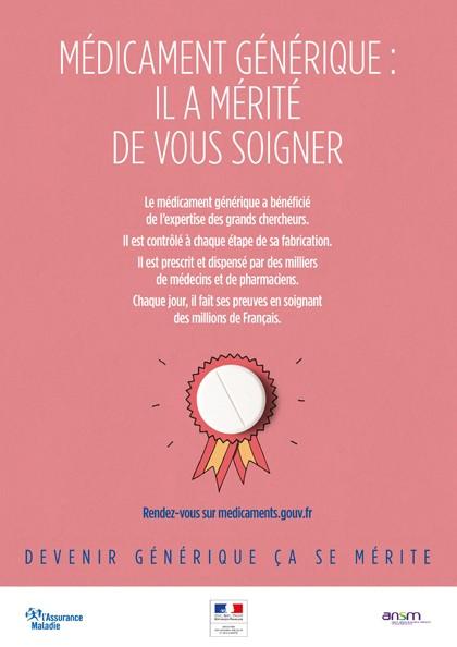 Médicament : une nouvelle campagne pour changer le regard des Français sur les génériques