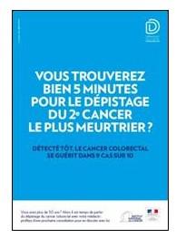 Cancer colorectal Une campagne pour rappeler l'importance du dépistage