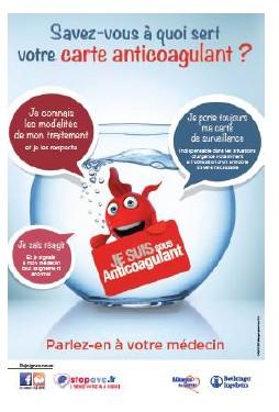 « Ma carte anticoagulant, c'est vital » : une campagne pour sensibiliser les patients