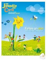 Une Jonquille pour Curie : 510 000 € collectés en faveur de la recherche contre le cancer !