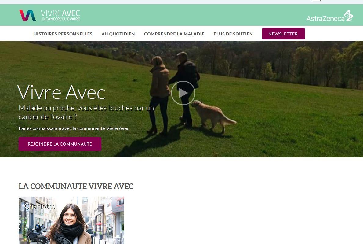 """Cancer de l'ovaire : un site pour """"mieux vivre avec"""""""