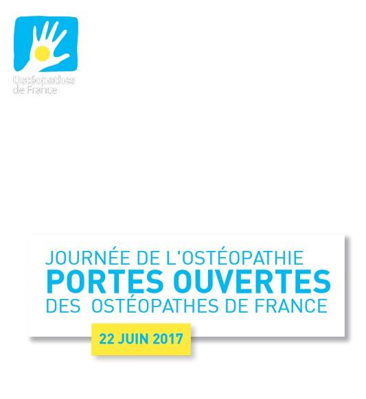 Journée Portes ouvertes des Ostéopathes de France le 22 juin 2017