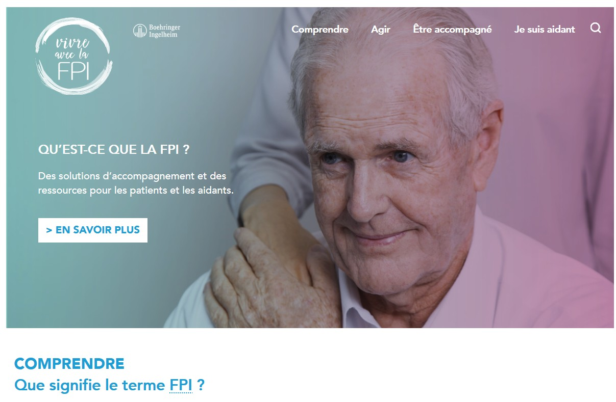 « Vivre avec la FPI », un site web pour améliorer la vie quotidienne