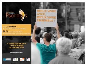 Journée Mondiale du Psoriasis: une nouvelle campagne pour interpeller le grand public !