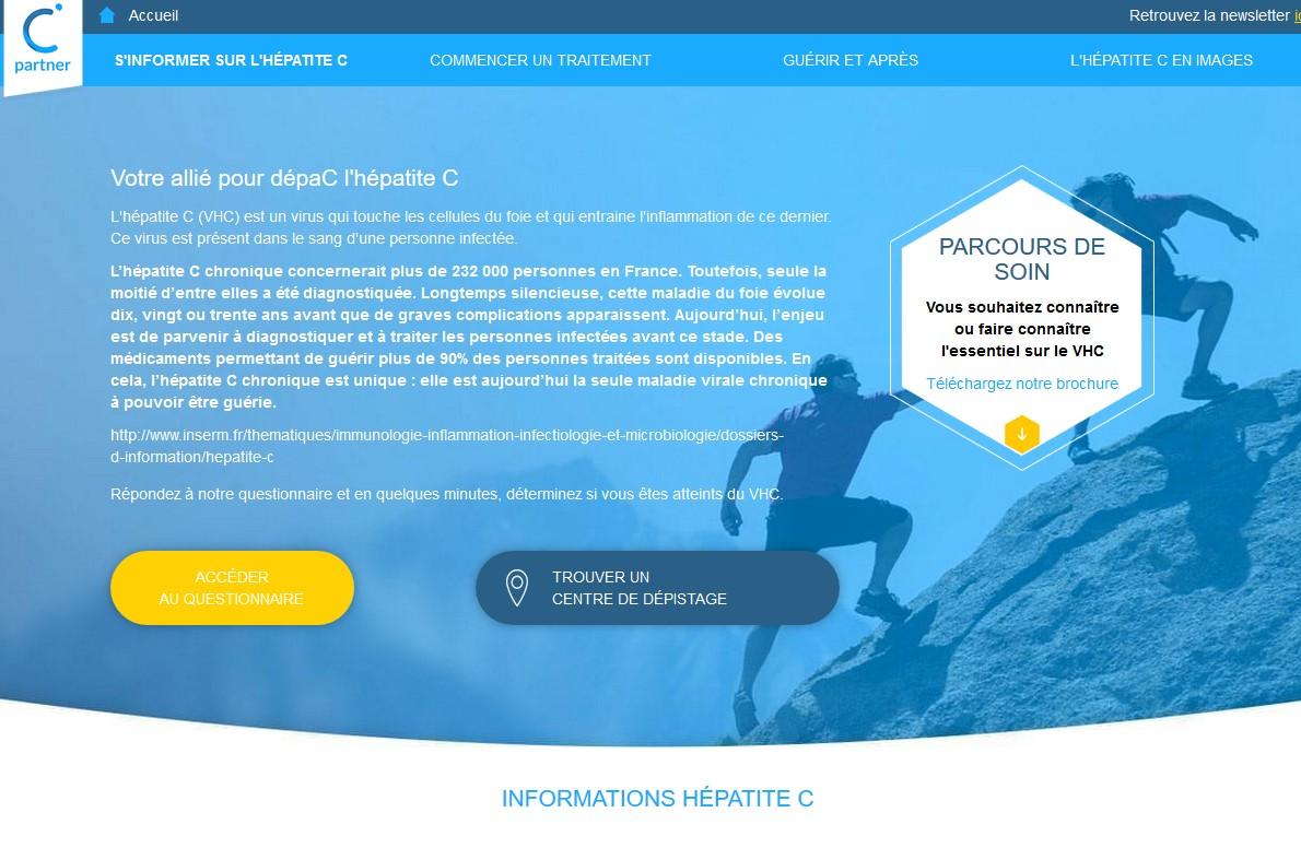 Hépatite C : une appli mobile pour optimiser le parcours de soin et favoriser l'observance thérapeutique