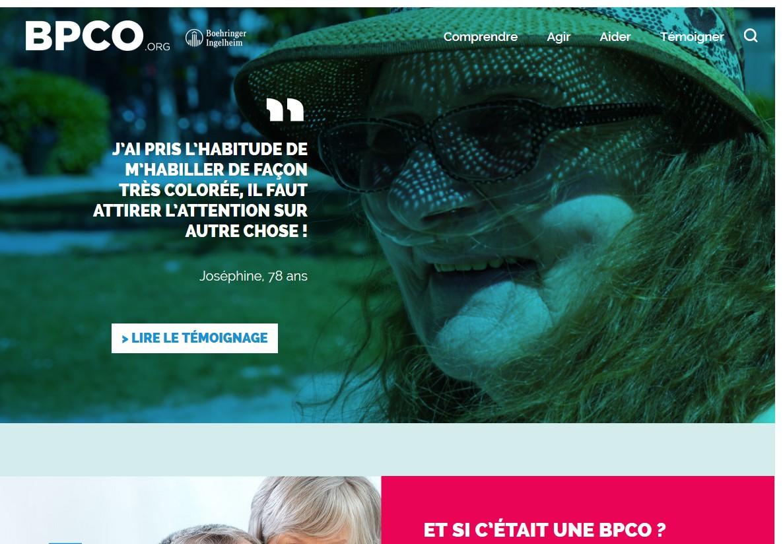 Le site BPCO.org