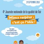 4ème journée nationale de la qualité de l'air le 19 septembre