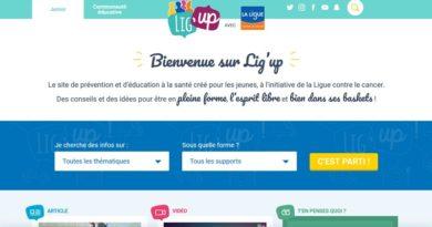 Lig'up, un site web dédié à la prévention